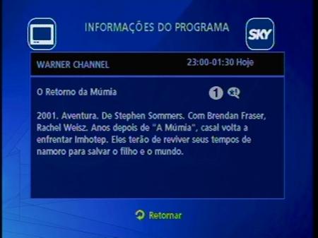 O Retorno da Mumia na WBTV